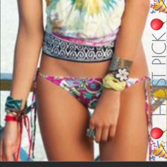 7dd229e44eeb4 OndadeMar Swim | Hostpick Arabian Soul Bikini Bottom | Poshmark